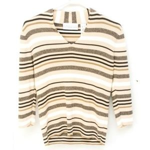 First Issue Liz Claiborne Women Sweater Top Small✅